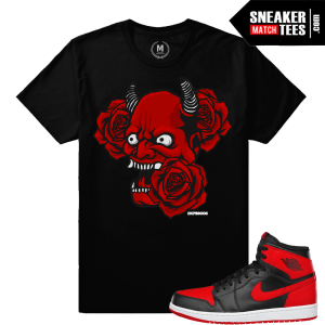 Sneaker Shirts match Banned 1 Jordan sneakers