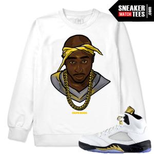 Sneaker Sweatshirt match Jordan 5 Olympic