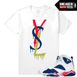 Sneaker tees Jordan Retro 7 Tinker Tee shirt