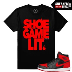 T shirts matching Banned 1 Jordans