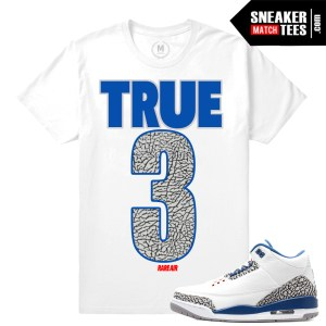 shirt matching True Blue 3s