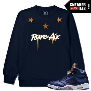 Air Jordan 5 Matching Crewneck Sweater