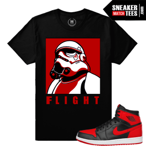 Jordan 1 Banned sneakers Match shirt