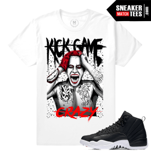 Jordan 12 Neoprene T shirts Match Sneakers