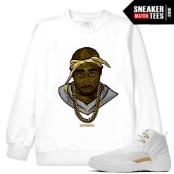 Jordan 12 OVO Matching White Sweatshirt