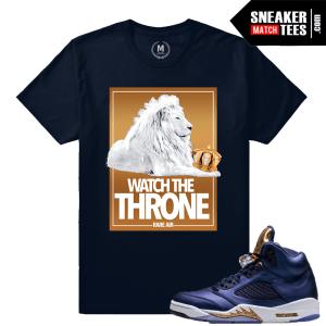 Jordan 5 Bronze Sneaker tee