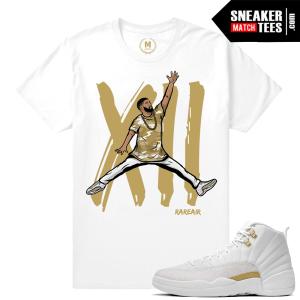 OVO 12 Sneaker Tees Match Jordan 12