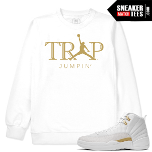 OVO 12s matching Crewneck Trap Jumpin
