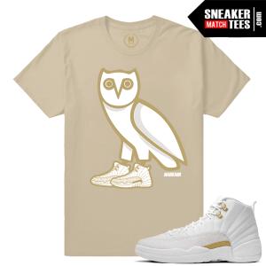 Sneaker Tee Shirt OVO Jordan 12
