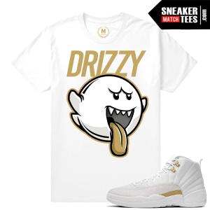 Sneaker tee Shirt Match OVO 12