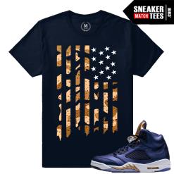 Sneaker Tees Shirts Jordan 5 Bronze
