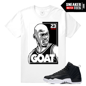 T shirt Jordan 12 Neoprene Match