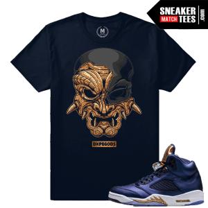 T shirt Match Bronze 5 Sneaker Shirts