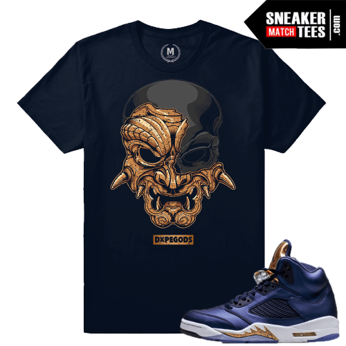 T shirt Match Bronze 5 Sneaker Shirts