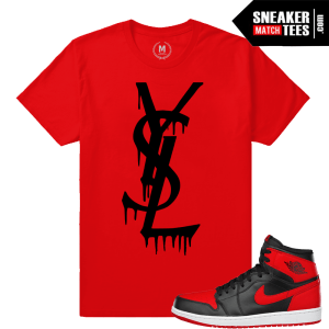YSL Drip Shirt Matching Banned 1 Jordans