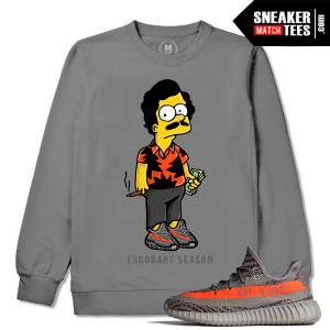 Yeezy Season 2 T shirt Match Boost 350