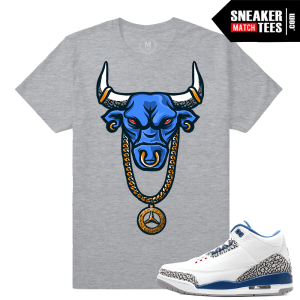 Jordan 3 True Blue T shirt