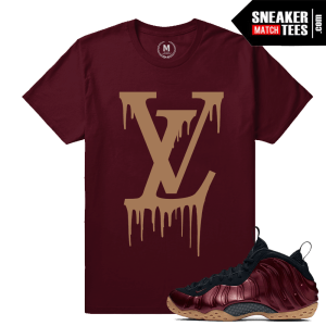 Maroon Foams Tee Shirt
