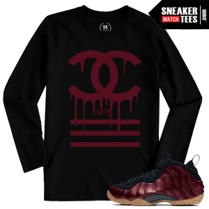 Match Foams Maroon Shirt