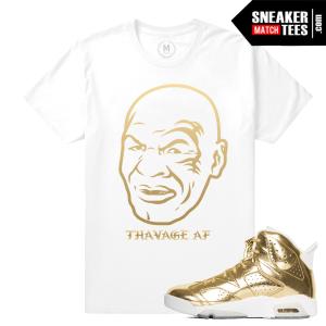 Shirts Match Pinnacle Gold 6s Jordan Retros