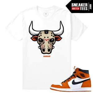 Sneaker Tee Match Jordan 1 Reverse Shattered Backboard
