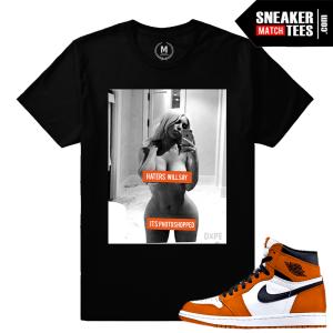 Sneaker Tee Shirt Match Reverse Shattered Backboard 1s