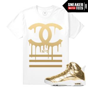 Jordan 6 Pinnacle Gold T shirt