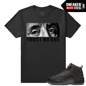 Wool 12s matching Trust No One T shirt