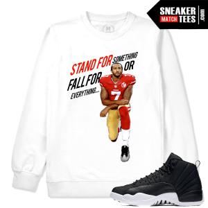 Kaepernick Sweatshirt Match Neoprene 12 Jordans