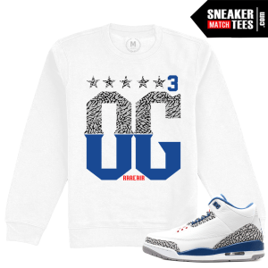 Air Jordan 3 True Blue Clothing