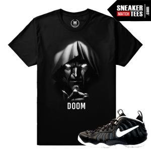 Doom Foamposite Matching Sneaker Tee Shirt