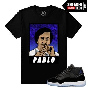 Jordan 11 Space Jam T Shirts Match