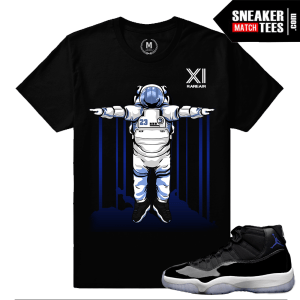 Jordan 11 Space Jam Tees Match