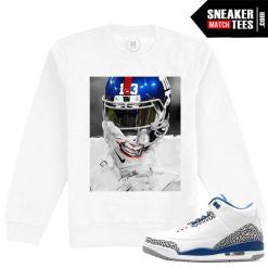 Jordan 3 True Blue Sweatshirt Match