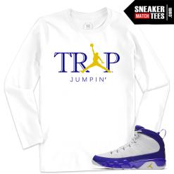 Jordan 9 Kobe Shirt Match Sneakers