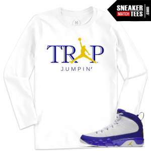 Jordan 9 Kobe Shirt Match Sneakers