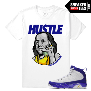 Jordan 9 Retros Kobe Tour Yellow Shirt