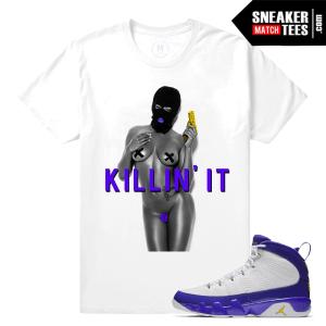 match Jordan Retro Kobe 9 Sneaker Tees