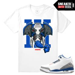 Sneaker Match Tee True Blue 3s