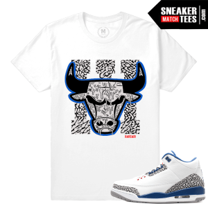 Sneaker Tees True Blue 3 Jordan