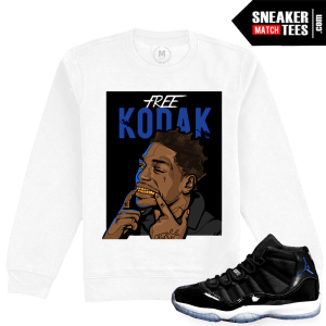 Space Jam 11 Jordan Retro Match Crewneck Sweater