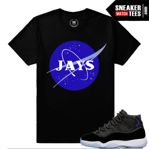 Space Jam 11 Matching Sneaker Tee Shirts