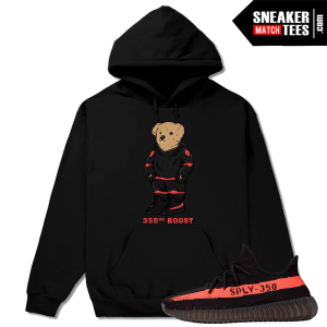 Yeezy Collection Match Yeezy Boost 350 V2 Black Red