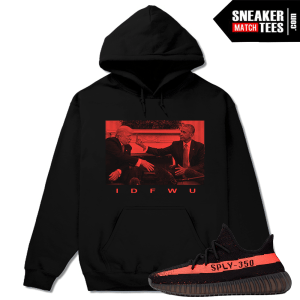 Yeezy Hoodie Match Yeezy Boost 350 Black Red