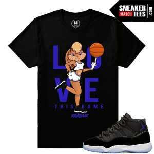Jordan 11 Space Jams Match Tees