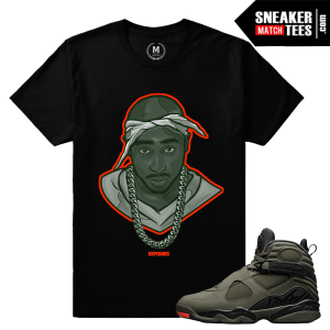 Match Sneaker Take Flight 8s Tee Shirts