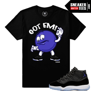Shirt Matching Space Jam 11 Retro Jordans