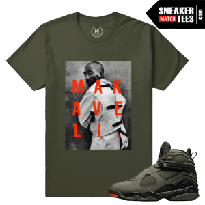 Sneaker Tee Shirts Matching Jordan 8 Take Flight