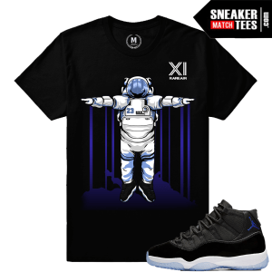 Space Jam 11 T shirt Matching Jordan Retro 11