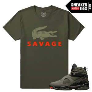 T shirt match Jordan 8 Take Flight
